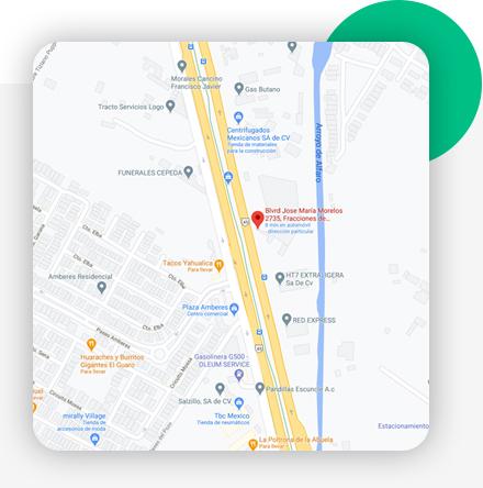 mapa Matriz León